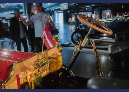 Valsts svētkos Rīgas Motormuzejs atvērts apmeklētājiem