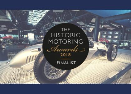 Historic Motoring Awards 2018 finālā Rīgas Motormuzejs