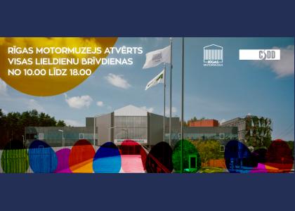 Rīgas Motormuzejs atvērts Lieldienu brīvdienās